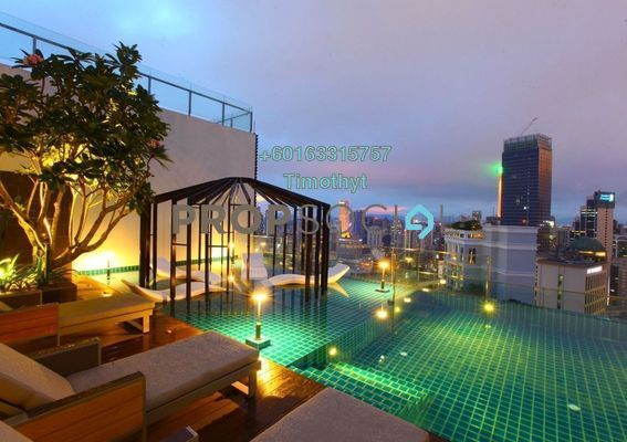Serviced Residence For Rent in Tribeca, Bukit Bintang Freehold Fully Furnished 0R/0B 3.2k