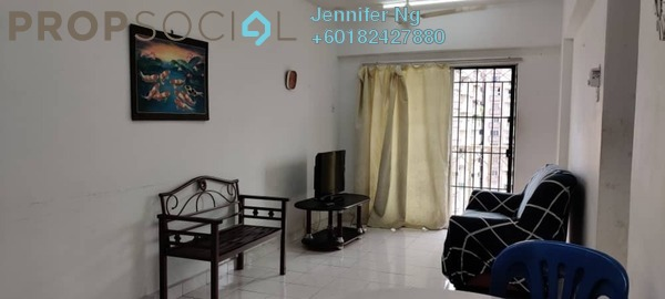 Condominium For Rent in Arena Green, Bukit Jalil Freehold Fully Furnished 2R/2B 1.2k