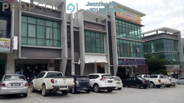 Shop For Sale in E-Boulevard, Denai Alam Freehold Semi Furnished 0R/3B 1.65m