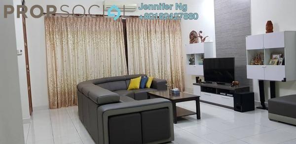 Terrace For Sale in Kemuning Bayu , Kemuning Utama Freehold Semi Furnished 4R/3B 950k