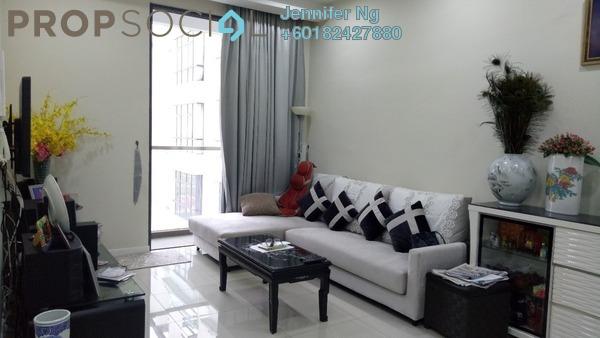 Condominium For Rent in KU Suites, Kemuning Utama Freehold Fully Furnished 3R/2B 2k
