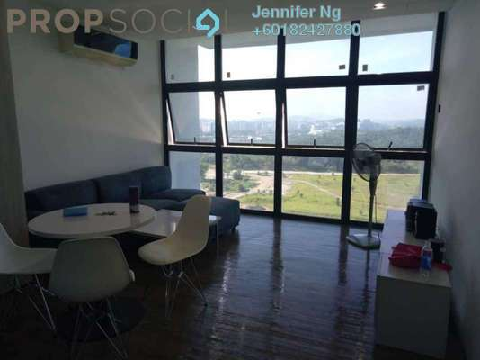 SoHo/Studio For Rent in The Place, Cyberjaya Freehold Fully Furnished 4R/1B 1.5k