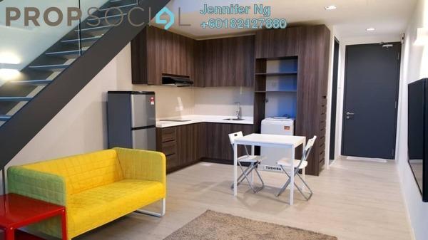 Duplex For Sale in One City, UEP Subang Jaya Freehold Fully Furnished 1R/1B 358k
