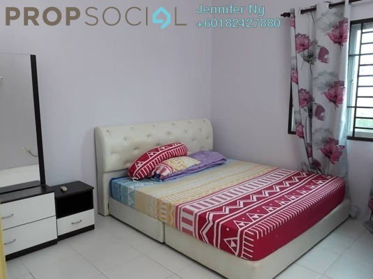 Townhouse For Sale in Lakeside Residences, Puchong Freehold Fully Furnished 4R/2B 420k