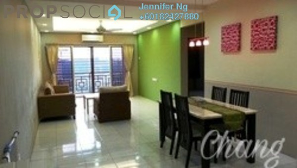 Condominium For Sale in Suria Damansara, Kelana Jaya Freehold Semi Furnished 3R/2B 538k