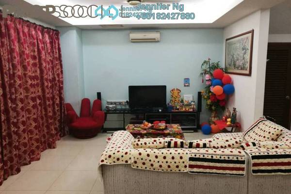 Terrace For Sale in Spira, Alam Impian Freehold Fully Furnished 4R/4B 739k
