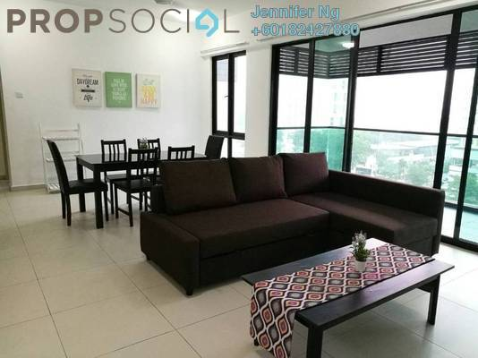 Condominium For Rent in Serin Residency, Cyberjaya Freehold Fully Furnished 3R/2B 2.1k