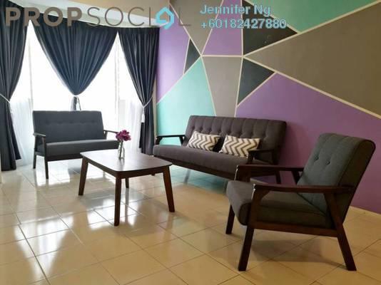 Condominium For Sale in Rhythm Avenue, UEP Subang Jaya Freehold Fully Furnished 3R/2B 388k