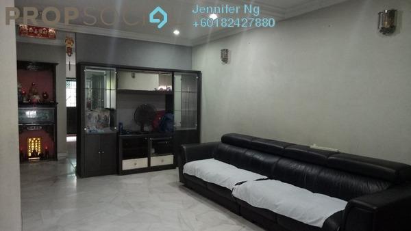 Terrace For Sale in USJ 3D, UEP Subang Jaya Freehold Semi Furnished 4R/3B 745k