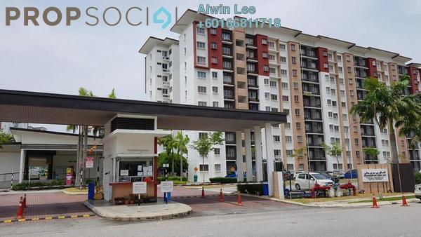 Apartment For Rent in Seri Jati Apartment, Setia Alam Freehold Semi Furnished 3R/2B 800translationmissing:en.pricing.unit