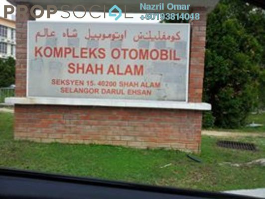 Office For Rent in Dataran Otomobil, Shah Alam Freehold Semi Furnished 0R/1B 1.2k
