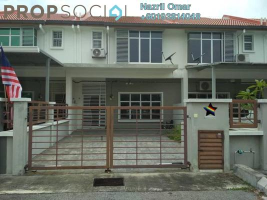Terrace For Rent in Bandar Puncak Alam, Kuala Selangor Freehold Semi Furnished 4R/3B 1.45k