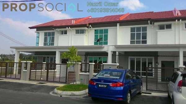 Terrace For Rent in Bandar Puncak Alam, Kuala Selangor Freehold Unfurnished 4R/3B 1.2k