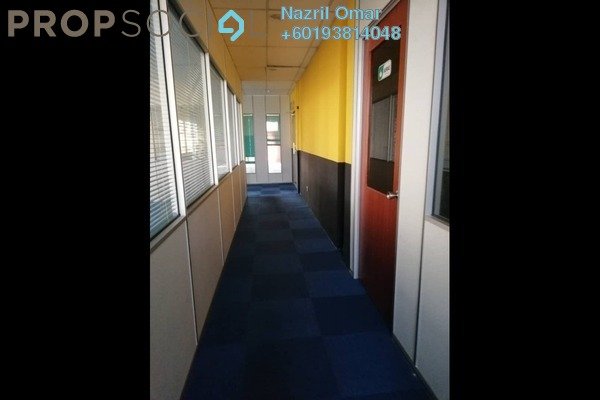 Office For Rent in Section 9, Shah Alam Freehold Semi Furnished 0R/1B 2.5k