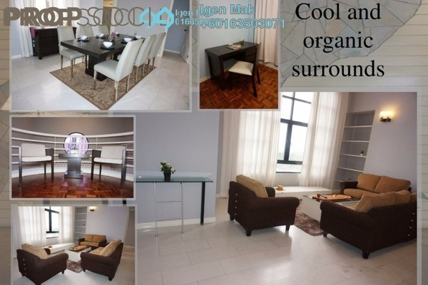 Condominium For Rent in Lanson Place, Bukit Ceylon Freehold Fully Furnished 3R/3B 3.5k