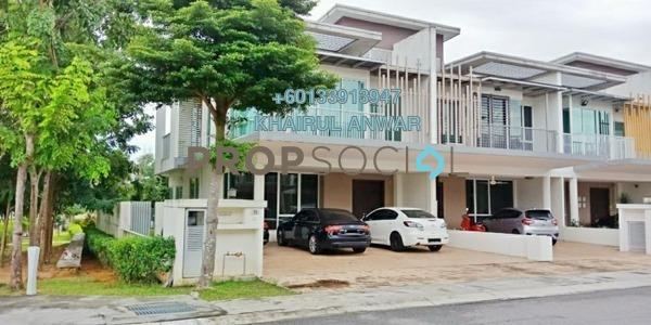 Terrace For Sale in Garden Residence, Cyberjaya Freehold Semi Furnished 4R/4B 1.25m