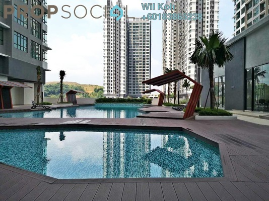 Serviced Residence For Rent in Conezión, IOI Resort City Freehold Semi Furnished 2R/2B 1.4k