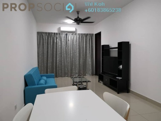 Serviced Residence For Rent in Symphony Tower, Balakong Freehold Fully Furnished 3R/2B 1.7k