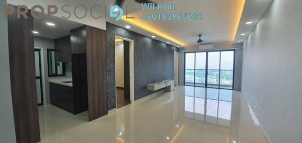 Serviced Residence For Sale in Symphony Tower, Balakong Freehold Semi Furnished 3R/2B 540k