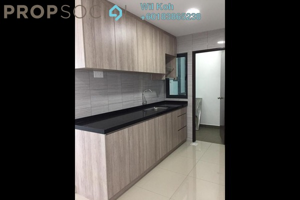 Serviced Residence For Rent in Symphony Tower, Balakong Freehold Semi Furnished 3R/2B 1.1k