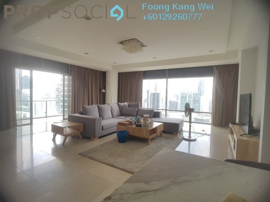 Condominium For Rent in Pavilion Residences, Bukit Bintang Freehold Semi Furnished 4R/5B 13k