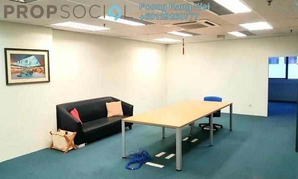 Office For Sale in Plaza Mont Kiara, Mont Kiara Freehold Semi Furnished 0R/0B 475k