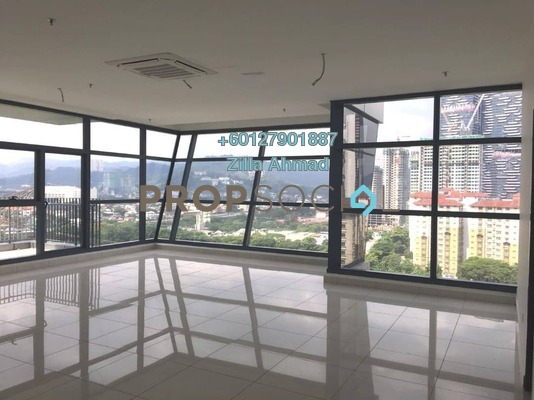 Office For Rent in 3 Towers, Ampang Hilir Freehold Unfurnished 0R/1B 4.5k