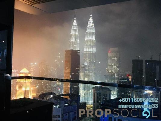 Condominium For Sale in Summer Suites, KLCC Freehold Fully Furnished 1R/1B 650k