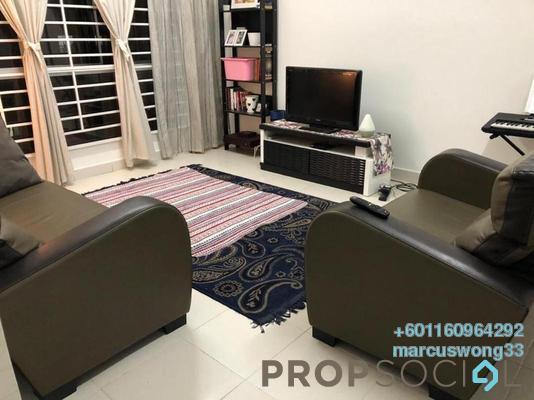 Condominium For Rent in Seri Mutiara, Setia Alam Freehold Fully Furnished 3R/2B 1.5k