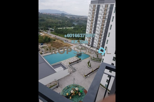 Condominium For Rent in Ascotte Boulevard, Semenyih Freehold Semi Furnished 3R/2B 800translationmissing:en.pricing.unit