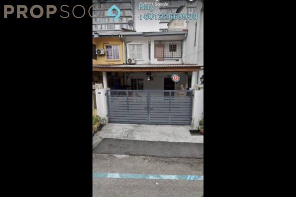 Terrace For Sale in Taman Tasik Menjalara, Bandar Menjalara Freehold Semi Furnished 3R/2B 670k