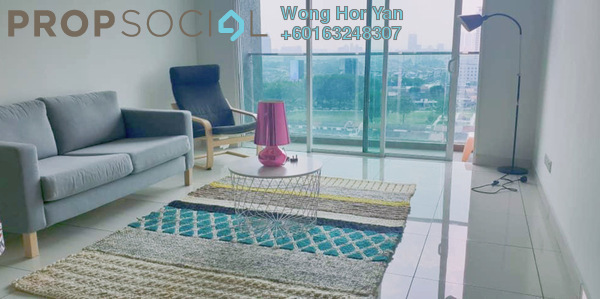 Serviced Residence For Rent in Glomac Damansara Residences, TTDI Freehold Fully Furnished 2R/2B 2.4k