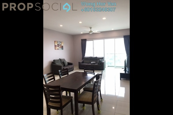 Serviced Residence For Rent in Glomac Damansara Residences, TTDI Freehold Semi Furnished 3R/2B 2.5k