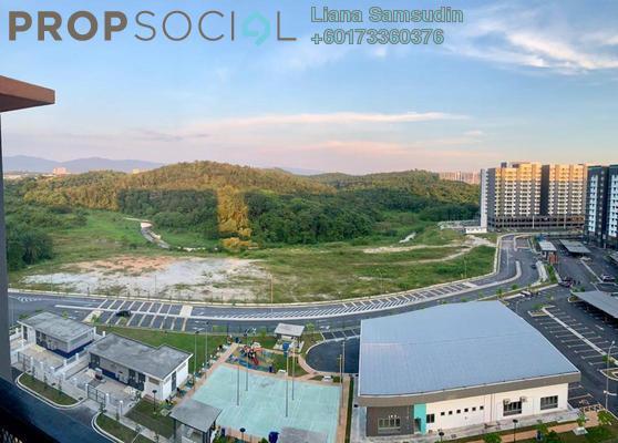 Condominium For Rent in Zamrud Residensi, Kajang Freehold Semi Furnished 3R/2B 1.35k