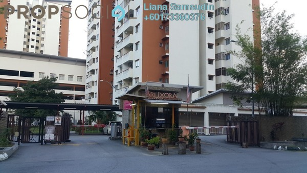 Apartment For Rent in Sri Ixora Apartment, Kajang Freehold Unfurnished 3R/2B 950translationmissing:en.pricing.unit