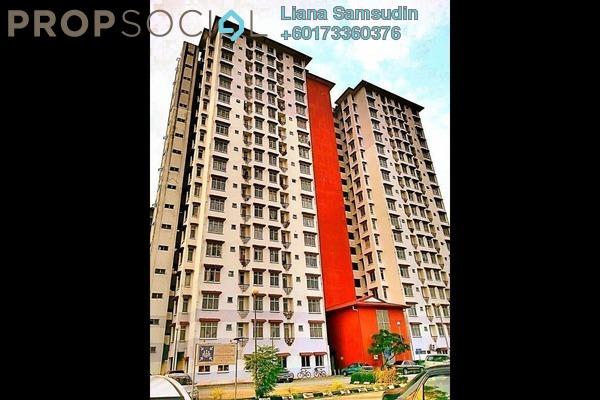 Apartment For Rent in Ilham Apartment, TTDI Jaya Freehold Semi Furnished 3R/2B 1.4k