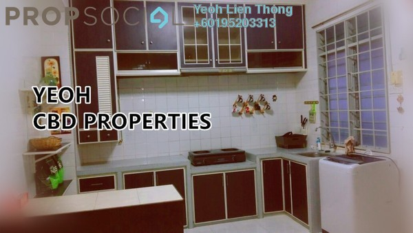 Terrace For Sale in Taman Brown, Bukit Gambier Freehold Semi Furnished 5R/2B 890k