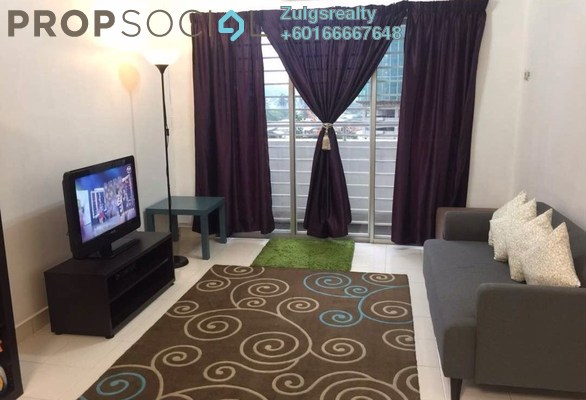 Apartment For Sale in Alam Prima, Shah Alam Freehold Semi Furnished 3R/2B 289k
