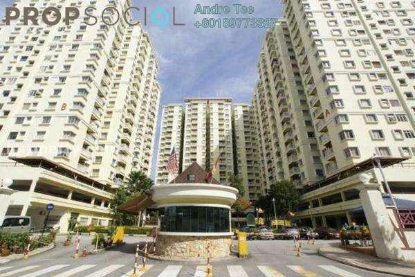 Condominium For Rent in Platinum Hill PV5, Setapak Freehold Semi Furnished 4R/2B 1.4k