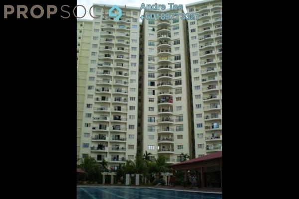 Condominium For Rent in Prima Setapak I, Setapak Freehold Semi Furnished 3R/2B 1.4k
