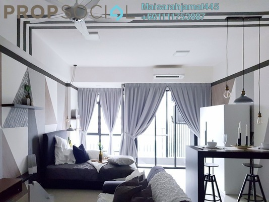 Apartment For Rent in Paramount Utropolis, Glenmarie Freehold Fully Furnished 1R/1B 1.6k