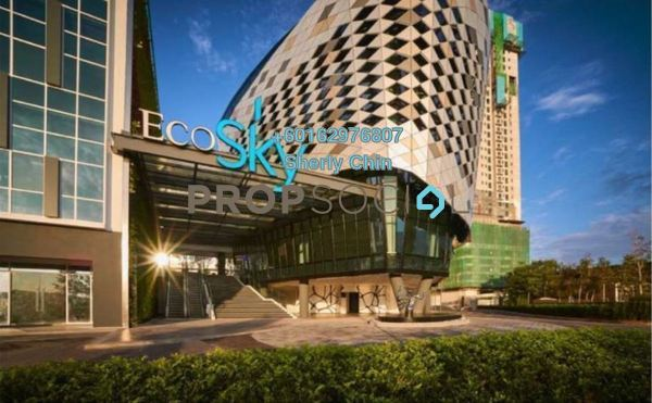 Condominium For Rent in EcoSky, Kuala Lumpur Freehold Fully Furnished 2R/2B 2.6k