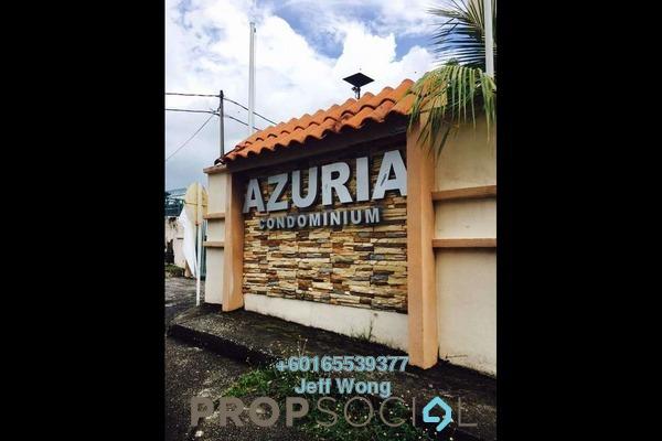 Condominium For Sale in Azuria, Tanjung Bungah Freehold Semi Furnished 3R/2B 350k
