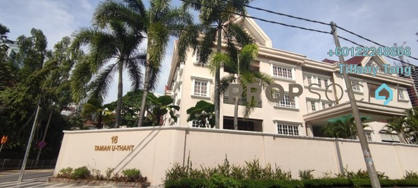 Duplex For Rent in 16 Taman U-Thant, Ampang Hilir Freehold Fully Furnished 4R/5B 11k