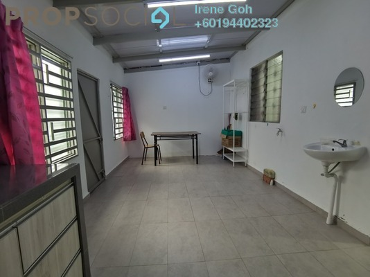 Terrace For Rent in Taman Gottlieb, Georgetown Freehold Semi Furnished 3R/2B 1.6k