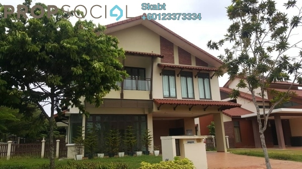 Terrace For Rent in Setia Eco Park, Setia Alam Freehold Semi Furnished 5R/6B 5k