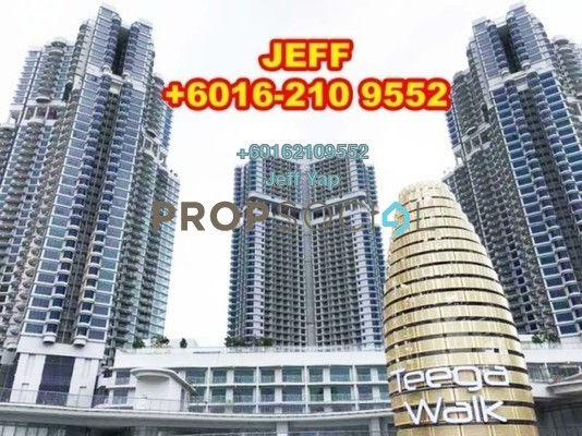 Serviced Residence For Rent in Teega, Puteri Harbour Freehold Fully Furnished 2R/2B 2.6k