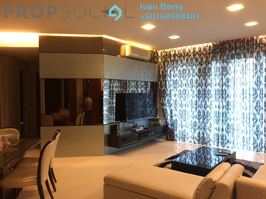 Condominium For Sale in Marc Service Residence, KLCC Freehold Fully Furnished 3R/3B 2.22m