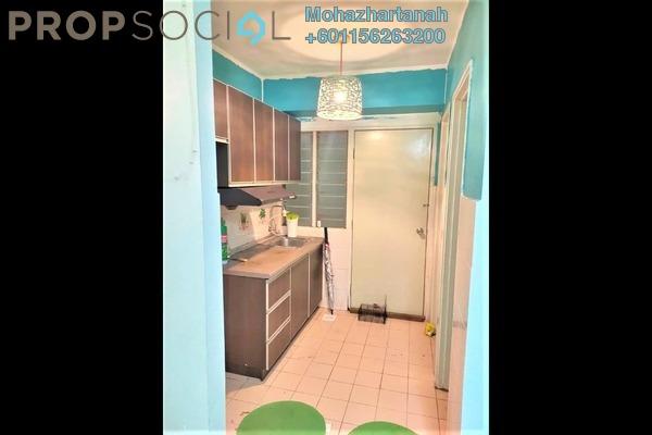 Apartment For Rent in Seroja Apartment, Setia Alam Freehold Semi Furnished 3R/2B 1.05k