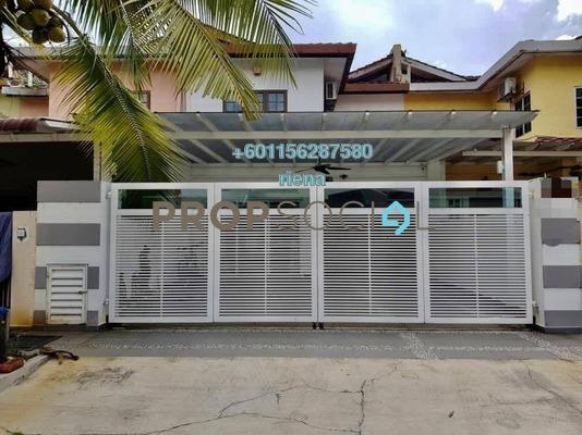 Terrace For Sale in Taman Bunga Negara, Shah Alam Freehold Unfurnished 4R/3B 680k